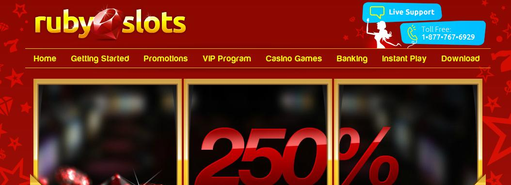 Ruby Slots Casino - US Players Accepted!